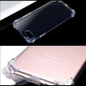 Transparent iPhone XR case